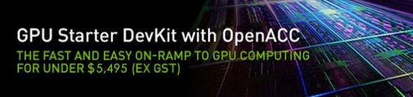 GPU Starter DevKit with OpenACC