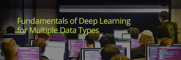 Fundamentals of Deep Learning for Multiple Data Types