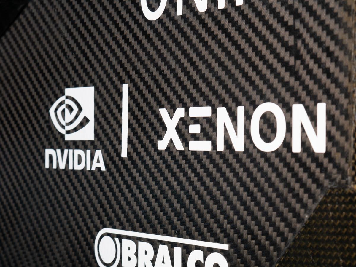 XENON NVIDIA Logo Monash Motorsports