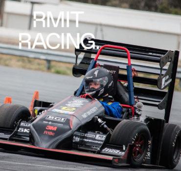 XENON RMIT Racing banner