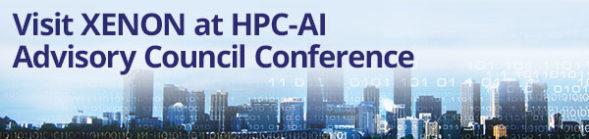 Visit XENON at HPC-AI Advisory Council Conference
